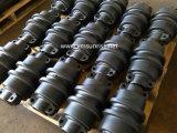 A estrutura da escavadora da máquina escavadora da maquinaria de construção parte o rolo da trilha/rolo inferior Daewoo/Doosan Dh370