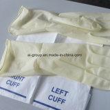 Одноразовые стерильные хирургические латексные перчатки для медицинского использования