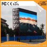 P10 a todo color exterior Adversting Shopping Mall pantalla LED de pared
