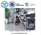 Traitement de polissage Bike Standing Rack