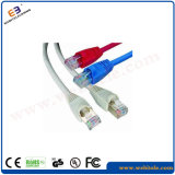 Шнур заплаты CAT6A 4*2*7/0.2cu UTP/кабель заплаты
