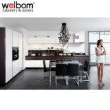 Welbom Negro Brillante modernos gabinetes de cocina