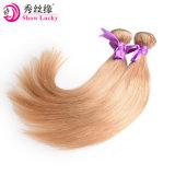 Het Peruviaanse Natuurlijke Haar van uitstekende kwaliteit van de Uitbreiding van het Haar van de Blonde Maagdelijke Italiaanse Krullende Menselijke