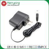 adaptateur d'alimentation 6V1a avec le CERT de la DAINE VI de FCC d'UL