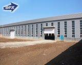 低価格アーキテクチャデザイン鋼鉄金属の構造の建物は価格によって組立て式に作られる倉庫を計画する