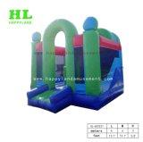 Steigung-Farben-reizendes Eis und Schnee-Thema-Schloss-aufblasbarer Prahler kombiniert