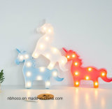 9 LED-Einhorn-dekoratives Licht