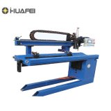 Marca Huafei AC DC costura longitudinal de la soldadora
