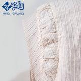 Camicia della piega del manicotto di Short di stile della signora Tops Chiffon Blouse Korean