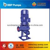 Iso centrifugo verticale della pompa per acque luride di Lw approvato
