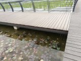 Revestimento de bambu ao ar livre do Decking com cor escura