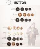 Het Fruit van de Knoop van de Broeken van de hars & Ureum & van het Gezicht & van de Os van de Spiegel de Knoop van de Hoorn voor Kleding/Kledingstuk/Schoenen/Zak/Geval