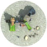 Kaiqi klassisches altes Dinosaurier-Spielplatz-Gerät der Stamm-Serien-Kq60007A