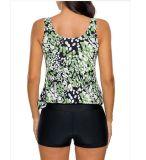 인쇄된 수영복 조끼와 Pants&200g 직물 튼튼한 운동복 &UV 50+ 잠수복으로