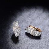 18K 금 여자 부속품 모조 형식 보석 귀걸이