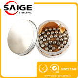 esfera de aço inoxidável de 1.2mm-32mm com certificação do GV
