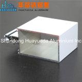 Perfil revestido da extrusão da liga de alumínio do pó