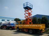DFAC 14m高度操作のトラック4X2の持ち上がるプラットホーム