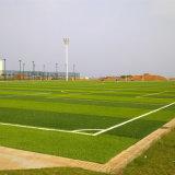 50mm de altura 10500 FAD-U80 da densidade de enchimento do campo de futebol de areia campo de futebol de relva artificial falsos de relva sintética