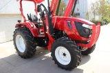alimentador del alimentador 4WD 554 de la rueda del alimentador de granja 55HP