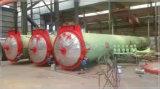 판매를 위한 산업 수평한 양쪽으로 여닫는 문 증기 오토클레이브 공기에 쐬인 콘크리트