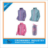 Meilleur Fashion Packaway pour vêtements de dessus la veste légère pour les filles