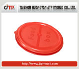 Glattes Spritzen des runden Plastikbehälters