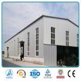 Almacén prefabricado constructivo aislado galvanizado Pre-Dirigido de la construcción de los planes