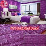 Mattonelle autoadesive decorative del PVC 3D Soundabsorb per la stanza di Rideo