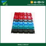 Dach-Blatt-Material strich Stahlring vor