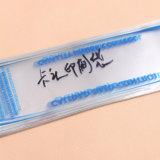 Прозрачная упаковка мешка пластмассы OPP с полиэтиленовым пакетом Blockhead собственной личности Adhesive/OPP
