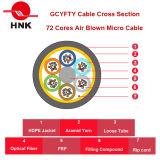 72 ядер Gcyfty нагнетаемого воздуха Micro кабель