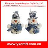 Constructeur de Noël de décoration d'arbre de bonhomme de neige de Noël de la décoration de Noël (ZY11S136-1-2)