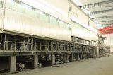 Gute Qualitätspappe, die gebildetes braunes Packpapier Brown-Gewölbter Papierbeutel herstellt Maschine aufbereitet