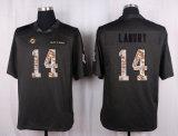Pullover di gioco del calcio di Miami Parker Bob Griese Ndamukong Mccain Larry Csonka