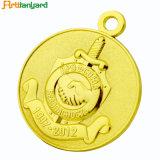 3Dレトロデザインの整形金属メダル