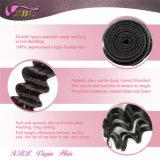 Pacotes brasileiros do cabelo do Virgin brasileiro não processado popular da venda por atacado do cabelo ondulado