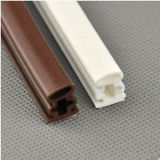 Tira plástica autoadesiva da selagem do TPE para a porta e o indicador de madeira