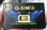 Het hete Verkopen opent SIM de Stal van de Kaart Q SIM voor iPhone5/5c/5s/6/6s/7/8/X (r-SIM)