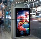 im Freienstandplatz-Touch Screen LCD des Fußboden-55inch für Bushaltestelle