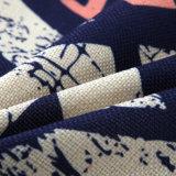 Casa de alta calidad personalizados decorativos Sofa Volver Funda de cojín lanzar Funda de almohada Imprimir