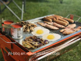 Ordinateur portable Grill Garden Grill avec Instant Barbecue valise Grill plié Portable grill au charbon avec Auto Rotesserie châssis et moteur de grille