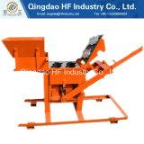 Construction de produit et machine de fabrication de briques chaudes de la colle de matériel de construction Qmr2-40 petites machines de fabrication de brique manuelles d'argile pour le Sri Lanka