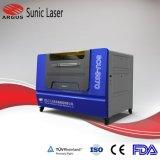 Gravure et découpe laser de la machine avec ce approuvé pour le cuir