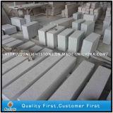 포장하거나 정원을%s 싼 자연적인 G623 Padang 밝은 회색 화강암 콘크리트 널판