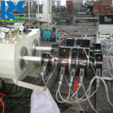 Cuerda doble tubo de PVC de conductos de electricidad de la extrusora