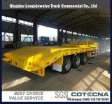 半3axles掘削機の輸送のGooseneckの低いベッドのLowbedのトレーラー