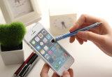 iPad iPhone를 위한 재고 우아한 호리호리한 금속 접촉 스크린 첨필 펜에서 도매
