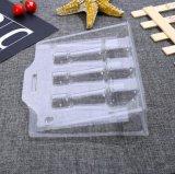 Boîtier en plastique transparent en PVC le conditionnement sous blister boîtes plié