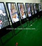Moniteur LCD portable Standee Kiosk Totem Media Affiche publicitaire lecteur numérique à LED